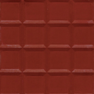 Gạch bông đơn màu khía đỏ GB-01