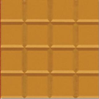 Gạch bông đơn màu khía vàng GB-02