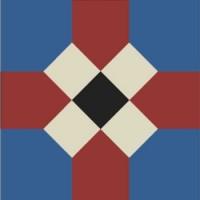Gạch bông vuông 14x14 M201