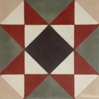 Gạch bông vuông kích thước 15x15cm V15-02