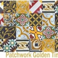 Gạch bông vuông Golden Times